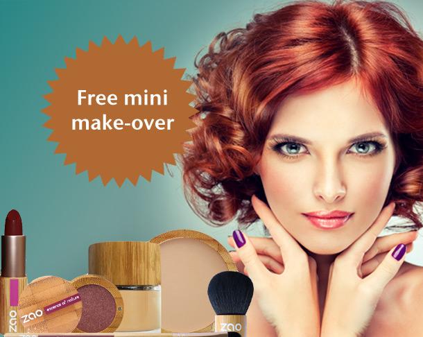 free mini make over