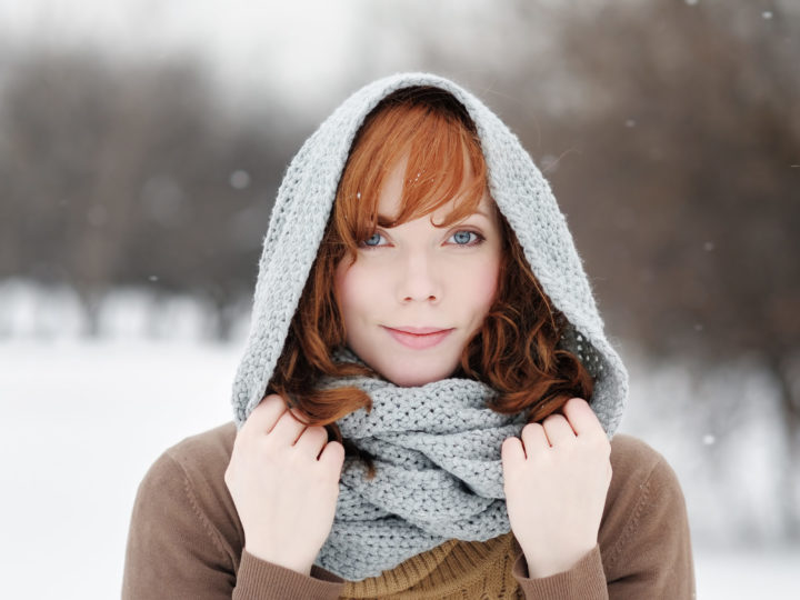 Help your hair to handle the cold.